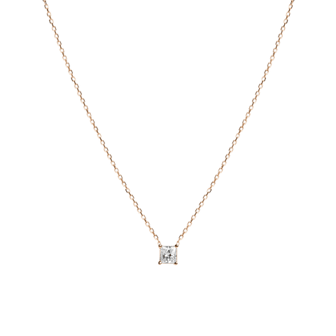 Medium diamond pendant necklace aurate new york large diamond pendant necklace yellow gold vermeil 14k yellow gold 18k yellow gold white diamond front aloadofball Choice Image