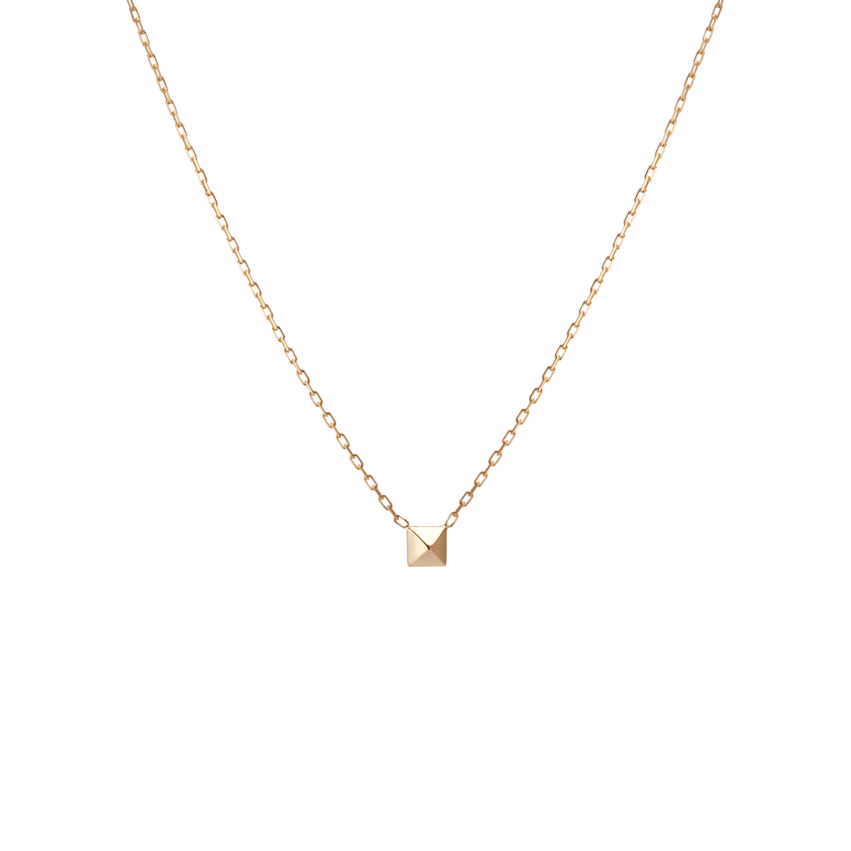 Made in USA 18K Yellow Gold I Love You Pendant JEWELS OBSESSION 18K I Love You Pendant