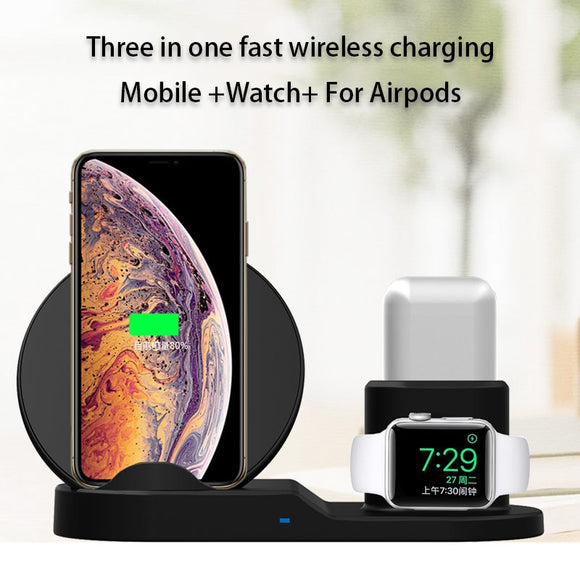 3 In 1 Apple Wireless Charger