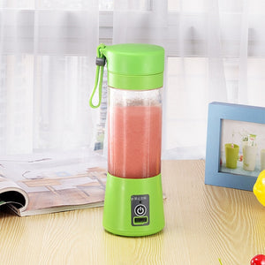 USB Charging 4 And 6 Blades Portable Electric Juicer