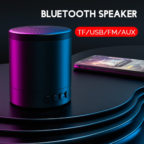 Portable Bluetooth Waterproof Speaker With Crystal Clear Sound Technology
