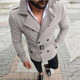 Men's Trench Mid Length Coat New Collection 2020