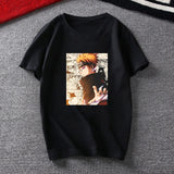Official Naruto Print Short Sleeve T-Shirt Hip Hop Style