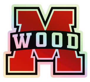 MWOOD Holographic Vinyl Sticker