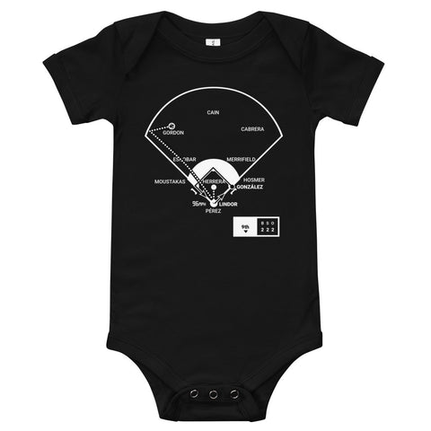 Greatest Indians Plays Baby Bodysuit: 22 Wins The Record (2017)