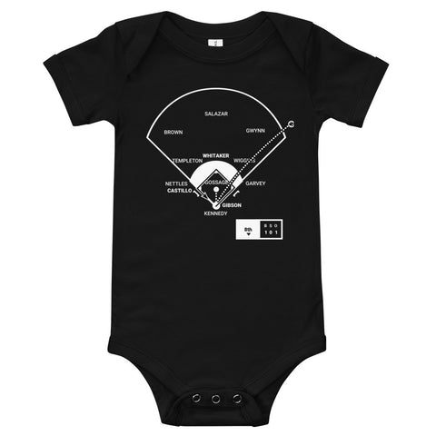 Greatest Tigers Plays Baby Bodysuit: World Champions (1984)