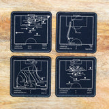 Greatest Liverpool Modern Plays: Leatherette Coasters (Set of 4)