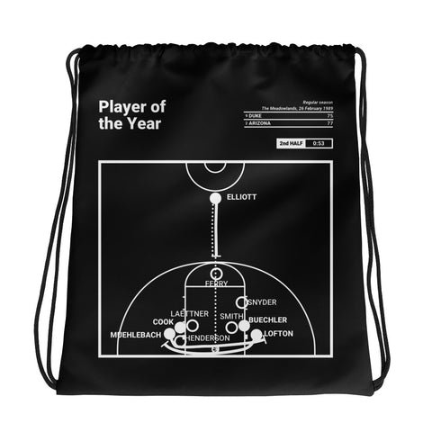 Greatest Arizona Plays Drawstring Bag: Player of the Year (1989)