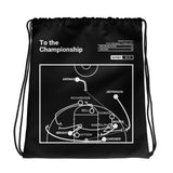 Greatest Arizona Plays Drawstring Bag: To the Championship (2001)