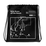 Greatest Benfica Plays Drawstring Bag: Brito Brace off the Bench (1991)