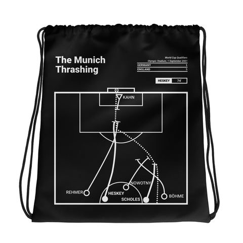 Greatest England Plays Drawstring Bag: The Munich Thrashing (2001)
