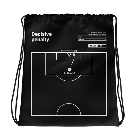 Greatest France Plays Drawstring Bag: Decisive penalty (1998)