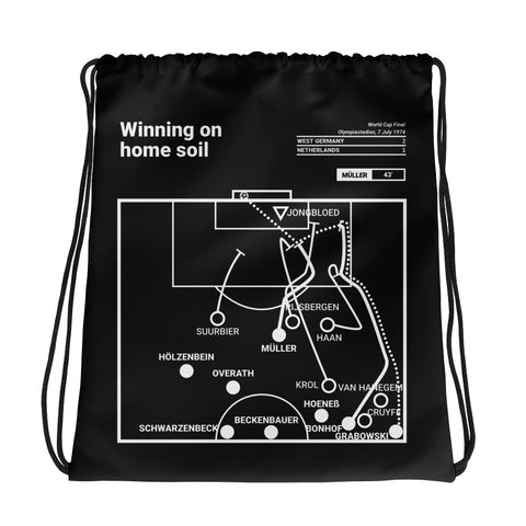 Greatest Germany Plays Drawstring Bag: Winning on home soil (1974)