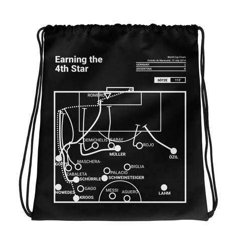 Greatest Germany Plays Drawstring Bag: Earning the 4th Star (2014)