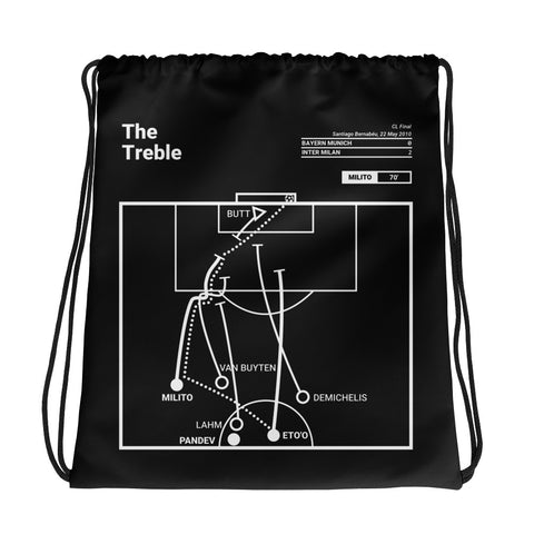 Greatest Inter Milan Plays Drawstring Bag: The Treble (2010)