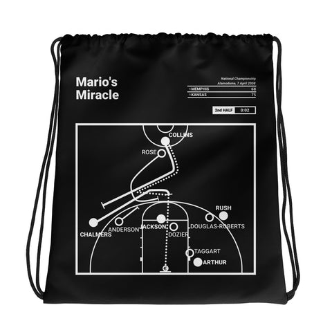 Greatest Kansas Plays Drawstring Bag: Mario's Miracle (2008)