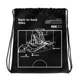 Greatest LA Galaxy Plays Drawstring Bag: Back-to-back titles (2012)
