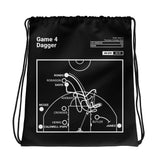 Greatest Los Angeles Plays Drawstring Bag: Game 4 Dagger (2020)