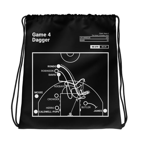 Greatest Los Angeles Plays Drawstring Bag: A.D. for Three (2020)