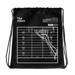 Greatest Michigan State Football Plays Drawstring Bag: The return (2015)