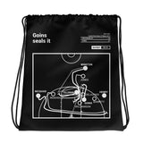 Greatest Michigan State Basketball Plays Drawstring Bag: Goins seals it (2019)