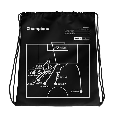 Greatest Norwich City Plays Drawstring Bag: Champions (2019)
