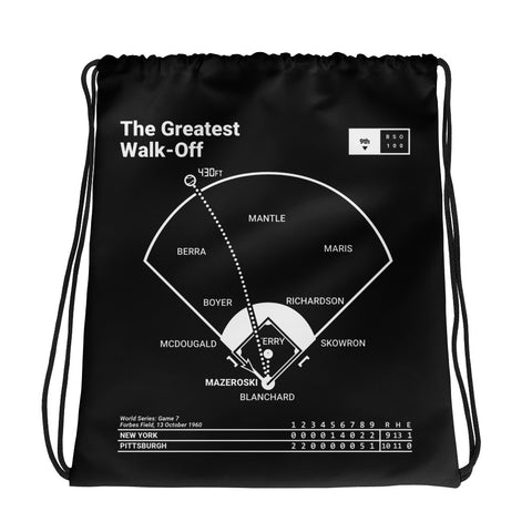 Greatest Pirates Plays Drawstring Bag: The Greatest Walk-Off (1960)