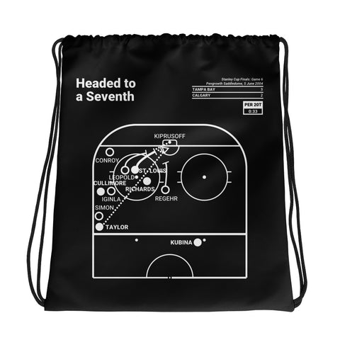 Greatest Lightning Plays Drawstring Bag: Headed to a Seventh (2004)