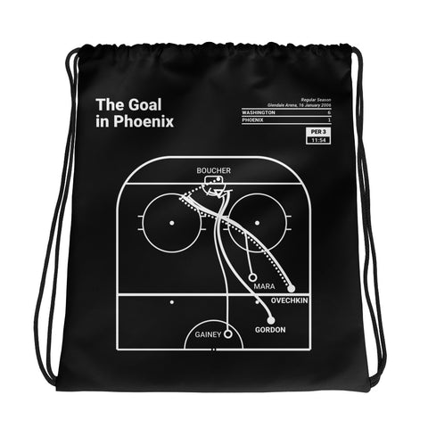 Greatest Capitals Plays Drawstring Bag: The Goal in Phoenix (2006)