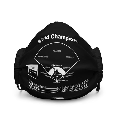 Greatest Diamondbacks Plays Face Mask: World Champions (2001)
