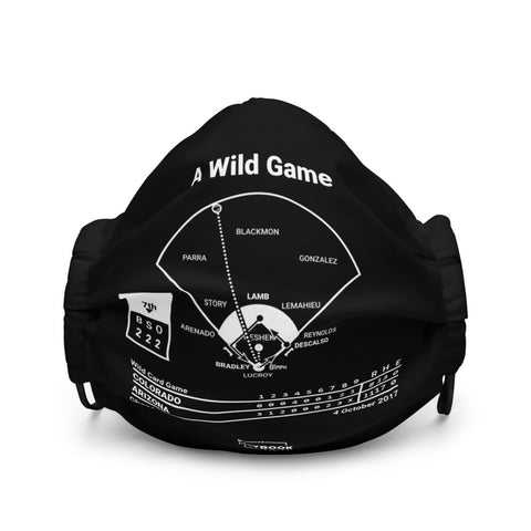 Greatest Diamondbacks Plays Face Mask: A Wild Game (2017)