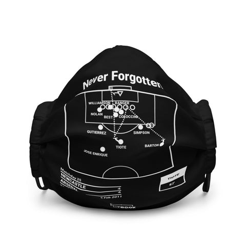 Greatest Newcastle Plays Face Mask: Never Forgotten (2011)