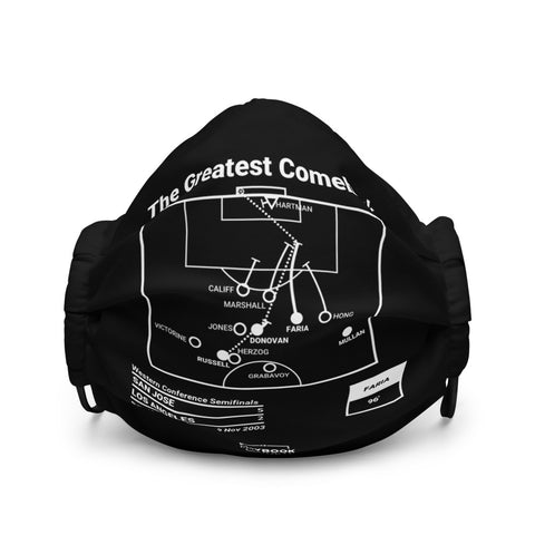 Greatest San Jose Earthquakes Plays Face Mask: The Greatest Comeback (2003)