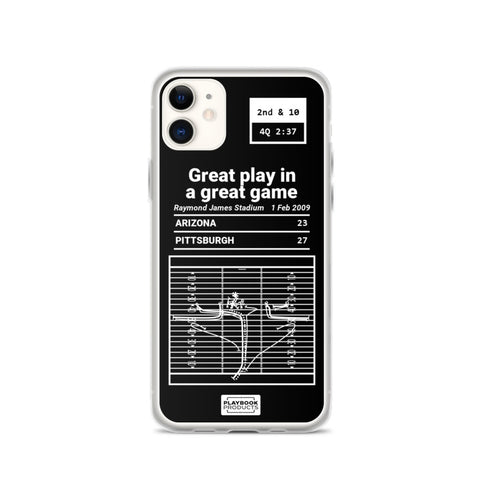 Greatest Cardinals Plays iPhone Case: Great play in a great game (2009)