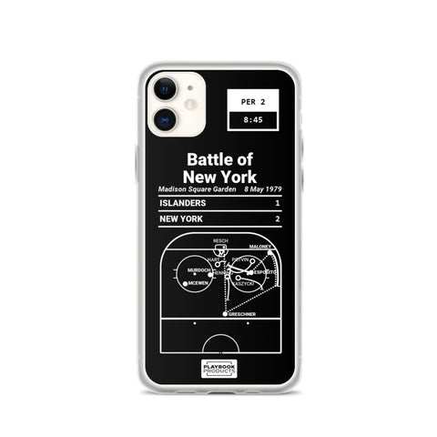 Greatest Rangers Plays iPhone Case: Battle of New York (1979)