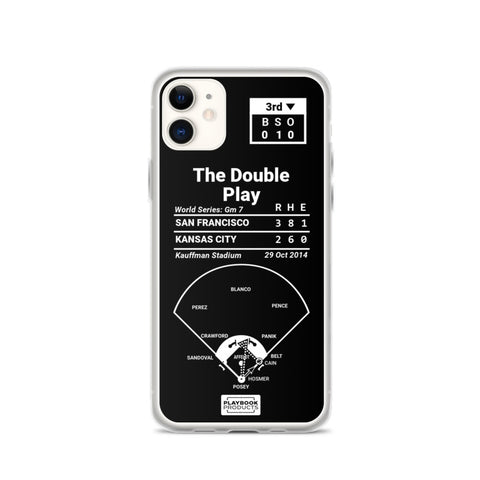 Greatest Giants Plays iPhone Case: The Double Play (2014)