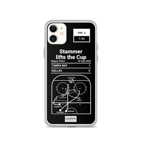 Greatest Lightning Plays iPhone Case: Stammer lifts the Cup (2020)