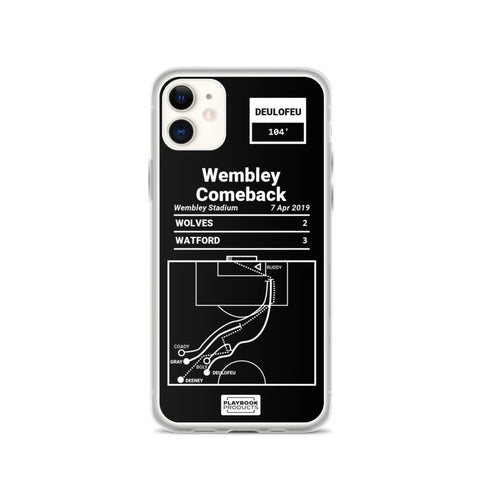 Greatest Watford Plays iPhone Case: Wembley Comeback (2019)