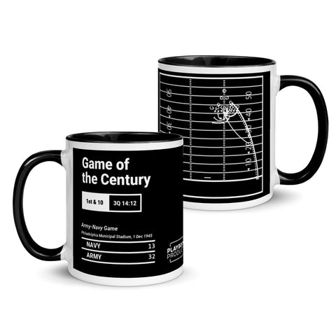 Greatest Army Football Plays Mug: Game of the Century (1945)