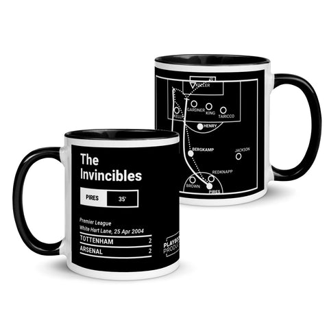 Greatest Arsenal Plays Mug: The Invincibles (2004)