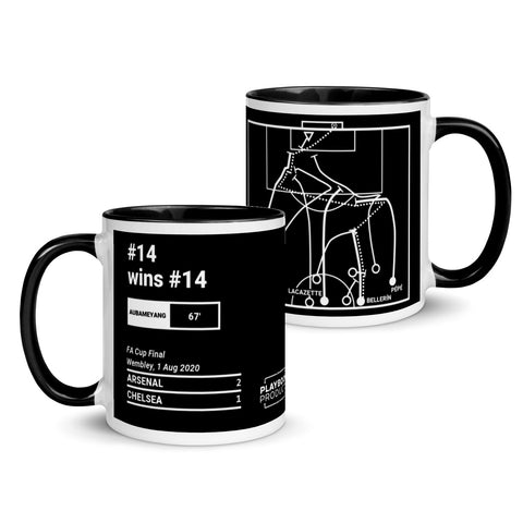 Greatest Arsenal Plays Mug: #14 wins #14 (2020)