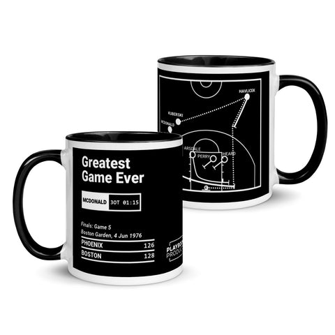 Greatest Celtics Plays Mug: Greatest Game Ever (1976)