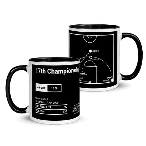 Greatest Celtics Plays Mug: 17th Championship (2008)