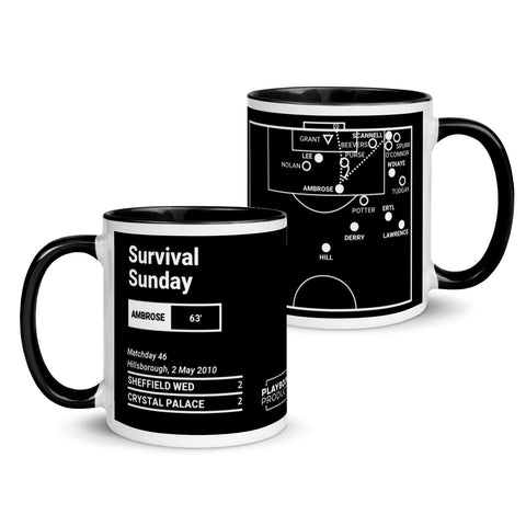 Greatest Crystal Palace Plays Mug: Survival Sunday (2010)