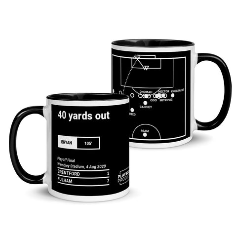 Greatest Fulham Plays Mug: 40 yards out (2020)