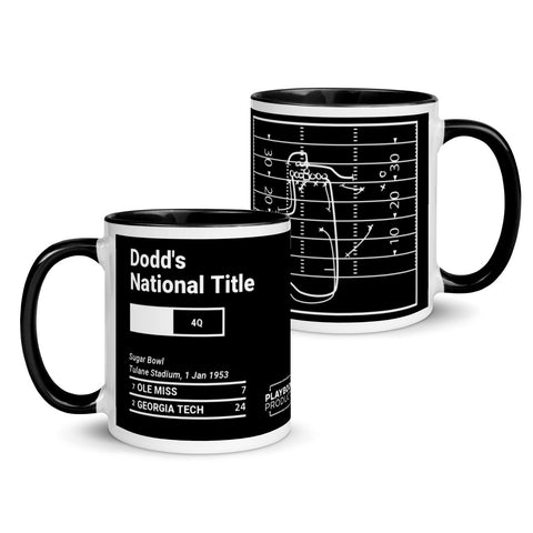 Greatest Georgia Tech Plays Mug: Dodd's National Title (1953)