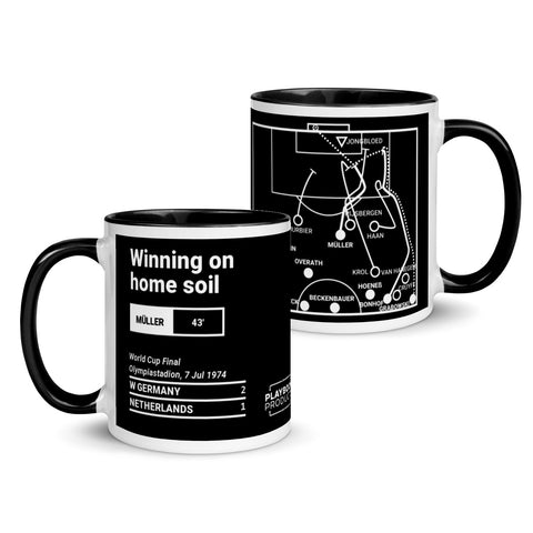 Greatest Germany Plays Mug: Winning on home soil (1974)