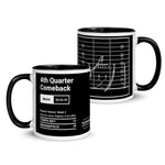 Greatest Colts Plays Mug: 4th Quarter Comeback (2003)