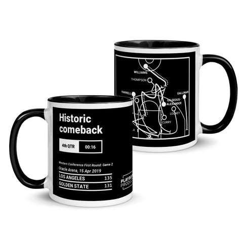 Greatest Clippers Plays Mug: Historic comeback (2019)