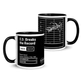 Greatest Rams Plays Mug: E.D. Breaks the Record (1984)